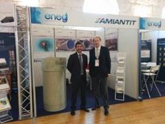 AMIANTIT participates in ENEG 2015 conference in Porto