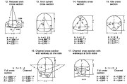 Cross Section Shapes and Dimensions